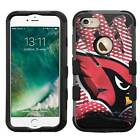 Arizona Cardinals #Glove Rugged Impact Armor Case for iPhone 5s/SE/6/6s/7/Plus