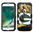 Green Bay Packers #Glove Rugged Impact Armor Case for iPhone 5s/SE/6/6s/7/Plus
