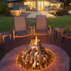 Grand Canyon Gas Logs Stainless Steel Gas Fire Ring