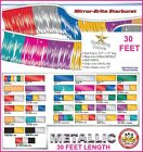 Metallic Pennant Flag Streamers 30 Foot (18 Panels Per String) Choose Your Color