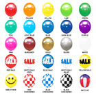 Replacement Balloons for our Reusable Balloon Kits with FREE SHIPPING