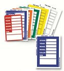 Versa-tags Kleer-bak Stock Stickers with FREE SHIPPING