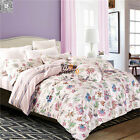 Quilt/Doona/Duvet Cover Set Floral New Cotton Double Queen Bed Set Pillow Cases
