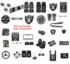 New NFL Oakland Raiders Pick Your Gear / Car Truck Accessories Official Licensed $8.35 USD on eBay