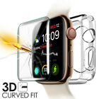 Fr Apple Watch Series 6/SE/5/4/3/2 Tempered Glass Screen Protector+Soft TPU Case
