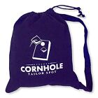 Cornhole Tote Bag - Shoulder Strap by Tailor Spot Heavy Duty Holds 10 bags