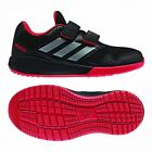 Adidas Alta Running CF Kids Boys Trainers Shoes Black Size UK 10 to 5.5  BA7424