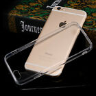 2016 Crystal Slim Soft Clear Transparent Case Cover Skin for IPhone Samsung LG