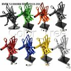 CNC Adjustable Footpegs Rearset Rear set For BMW S1000RR/HP4 09-14 S1000RR 15-16