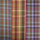Wool Effect Thick Galloway Scottish Tartan Plaid Upholstery Curtain Fabric