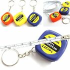 Easy Keychain Retractable Ruler Tape Measure Small Portable Pull Ruler x1