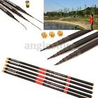 Super Telescopic Carbon Fiber Fishing Rod Spinning Sea Fishing Pole Tackle -6.3M