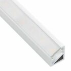 WHITE 1M Meter Aluminium LED PROFILE TRILine Corner For 5050 5630 Strip Light