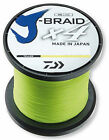 Daiwa X4 J-Braid Yellow 3000yds! CHOOSE YOUR SIZE
