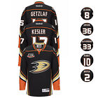 2013 Anahem Ducks NHL Reebok Home Black 20th Anniversary Premier Jersey Mens