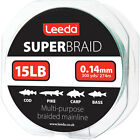 Leeda Super Braid - 150yds or 300 yds spools - 15lb, 20lb, 30lb, 40lb & 50lb BS