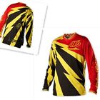 New Troy Lee Designs Men's  long sleeves Jerseys Cyclops  YELLO M/L/XL/XXL