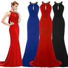 Fishtail Bridesmaid Dress Ball Prom Gown Formal Evening Party Wedding Long Dress