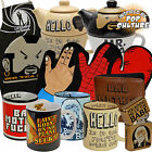 Pop Culture Gift Range -Teapot and Mug Set, Overnight bag, Apron,Wallet