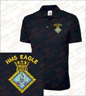 HMS Eagle Embroidered Polo Shirts