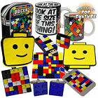 Retro Classic Brick Toy Gifts - Mug, Cufflinks, Key-Ring, Luggage Tag, Coaster