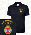 HMS Trenchant Embroidered Polo Shirts