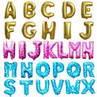 Party Alphabet Letter Foil Baloons 16inch Custom Shaped Aluminum Balloon Party