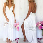 Ladies Women Chiffon Bohemian Summer Party Beach Dress Long Boho Maxi dress