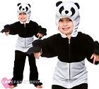 CHILDS PANDA COSTUME KIDS  ANIMAL ONESIE BOYS GIRLS SCHOOL BOOK WEEK FANCY DRESS