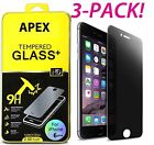 Privacy Anti-Spy Real Tempered Glass Screen Protector Shield for iPhone 7 Plus
