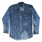 Greentree Men's Casual Denim Shirt Cotton Jeans Shirt MAST21