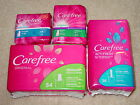 CAREFREE PANTILINERS UNSCENTED, FRESH SCENT, REGULAR, EXTRA LONG *CHOOSE SIZE*