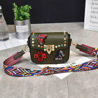 Women Embroidery Leather Handbag Shoulder Purse Tote Satchel Messenger Bag New