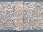 "Dusky Pink Lace Wide Scalloped 6.75""/17cm Bride Craft Table Runner"