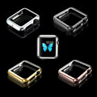 Ultra-Slim stainless steel Metal Hard Case Cover For Apple Watch iWatch 38 /42mm