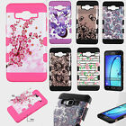 For Samsung Galaxy On5 G550 Tuff Trooper HYBRID TPU Case Cover + Screen Guard