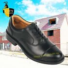 City Knights Leather Steel Toe Cap Oxford Safety Shoes Smart Office SS501CM