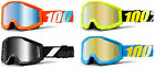 2017 KIDS 100% PERCENT STRATA MOTOCROSS GOGGLES with CLEAR or MIRROR LENS youth