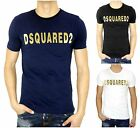 NWT Dsquared2 RELIEF PRINT *3 COLORS* Men's Short Sleeve T-Shirt Jeans Italy