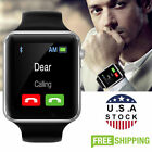 A1 Smart Wrist Watch Bluetooth Waterproof GSM Phone For Android Samsung IOS