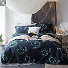 Quilt/Duvet/Doona Cover Set Queen/King Size Bed Linen Egyptian Cotton New Floral
