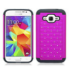 For Samsung Galaxy Core Prime IMPACT Dazzling Hard Diamond Case +Screen Guard