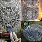 Indian Ethnic Dorm Decor Wall Hanging Hippie Mandala Tapestry Bohemian Bedspread