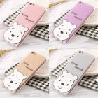 For iPhone 7 7 Plus 6 6S Luxury Glitter Bear Winnie The Pooh Soft TPU Case Cover