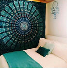 Indian Decor Mandala Tapestry Wall Hanging Hippie Throw Bohemian Home Bedspread