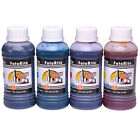 Ciss ink refill for HP Printers dye and pigment ink 4 x 100ml Envy  Officejet