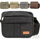 Mens / Ladies Work / Travel Genuine Canvas 'Small Messenger' Style Bag