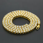 Trendy Long Men's Hiphop Cool Full Rhinestone Alloy Necklace Chian Gift Jewelry