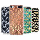 HEAD CASE DESIGNS TEXTURED ART DECO PATTERNS GEL CASE FOR APPLE iPOD TOUCH MP3
