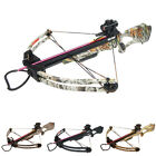 175 lb Black / Camo Compound Crossbow Bow +Red Dot Scope +All Accessories 150 80